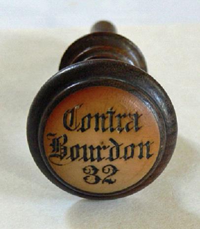 stop contra bourdon