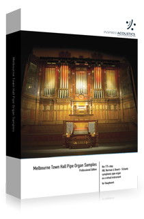 Melbourne Town Hall Pipe Organ Samples